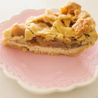 Cheesecake Apple Pie.