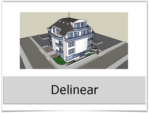 Delinear 2D y 3D