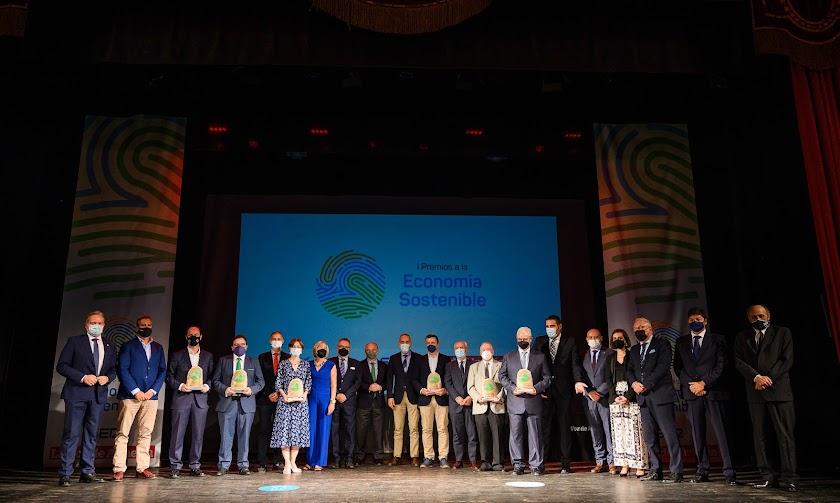 Los I Premios a la Economía Sostenible, en imágenes