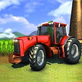 Indian Tractor Farming Simulator Game : Harvester