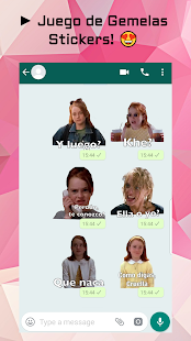 Memes Com Frases En Espanol Para Whatsapp On Windows Pc Download Free 1 0 Stickers Gemelas Juego