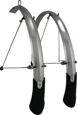 Planet Bike Cascadia ALX 700c x 43 Fender Set: Black (700c x 25-35) alternate image 0