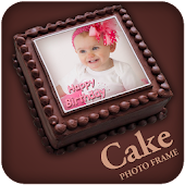 Birthday Cake Photo Frame - Birthday Editor 2017