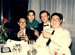 Photo: With Tenny Cheung, Melody Chan and Philip Kwok @ the Carlton. Where are those incredible guys?