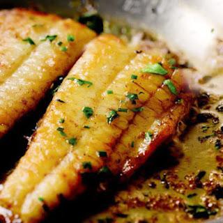 Flounder with Lemon Butter Sauce Recipe