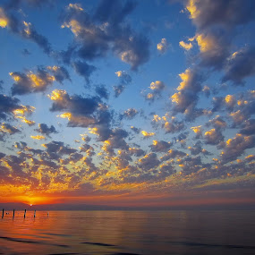caspian sea by Fereshteh Molavi - Landscapes Waterscapes ( waves, clouds, sun, sea )