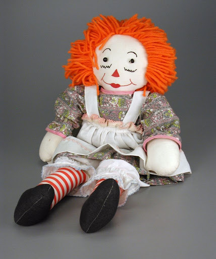 Doll:Hand-crafted Raggedy Ann