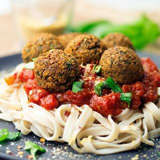 Lentil Meatball Spaghetti