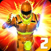 Grand Speed Robot Iron Hero Rescue Mission