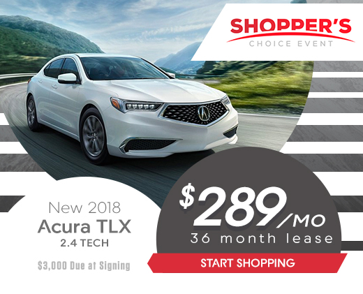 Acura Carland Shopper S Choice Sales Event All April Long In