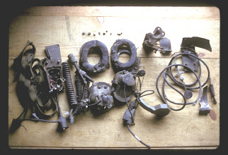 Photo: Equipment salvaged from Peanuts (I think)