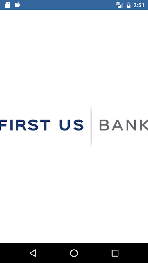 First US Bank Anywhere Access- screenshot
