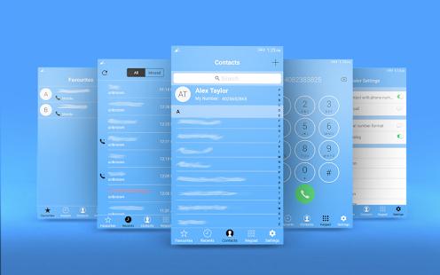 OS 10 Dialer - Phone Book App - náhled