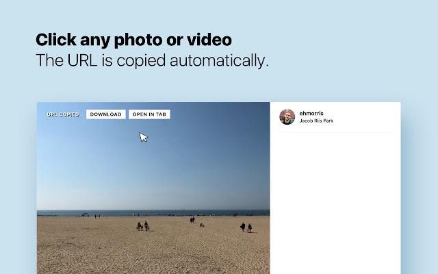 High Resolution Downloader for Instagram