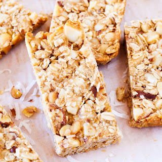 Coconut Macadamia Nut Almond Snack Bars