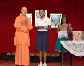 Photo: Award Receipient for the PSLE category - Tharani