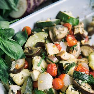 Eggplant, Zucchini And Tomato Dish