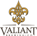 Logo for Valiant Brewing Company