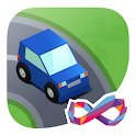 Road Trip FRVR - Connect the Way of the Car Puzzle icon