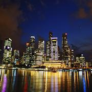 Singapore Night Live Wallpaper