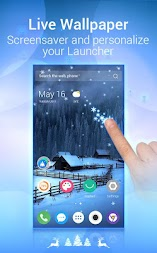 U Launcher Lite – FREE Live Cool Themes, Hide Apps APK screenshot thumbnail 2