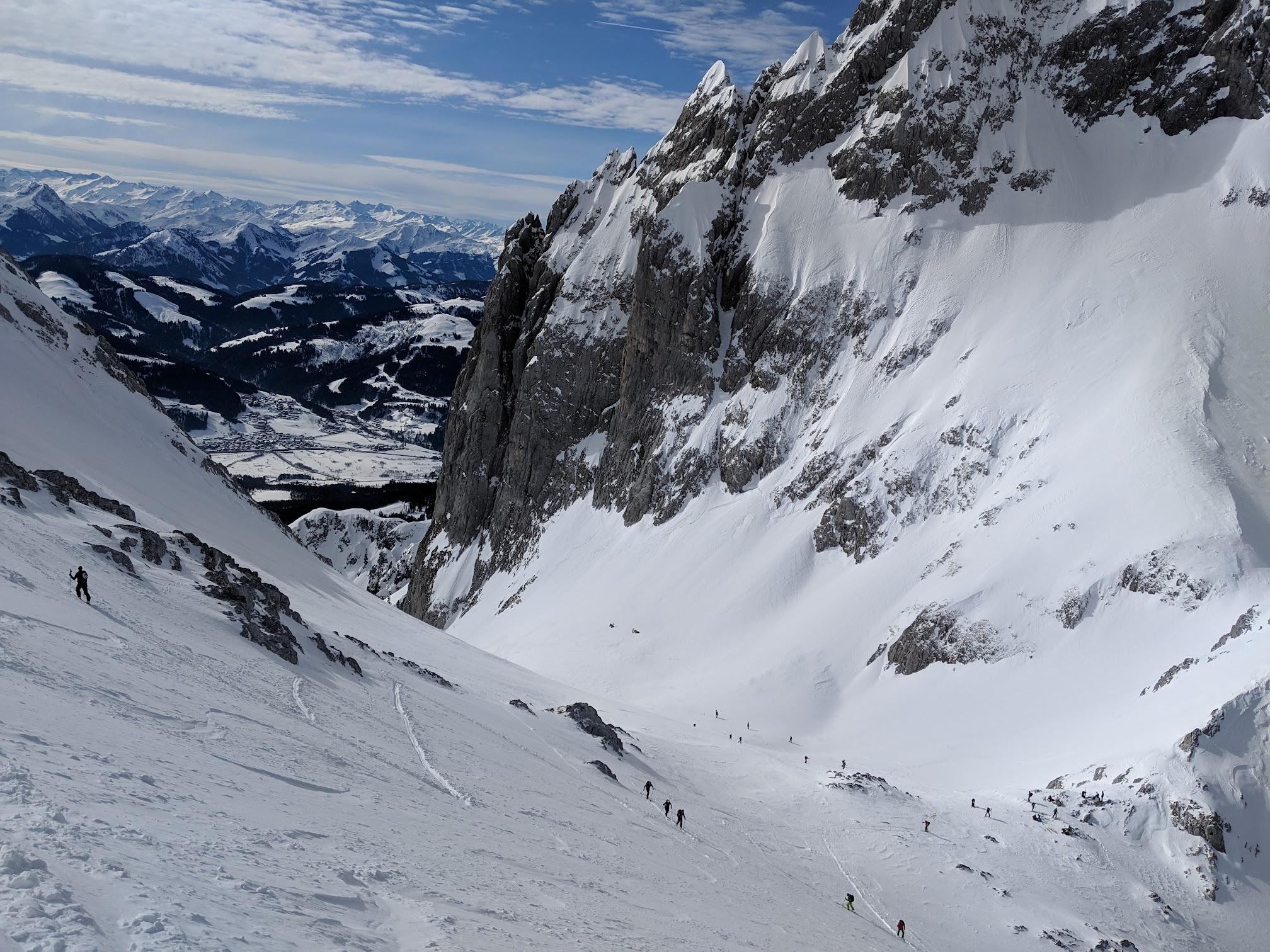 Wilder Kaiser: Ellmauer Tor skitour - Feb 19
