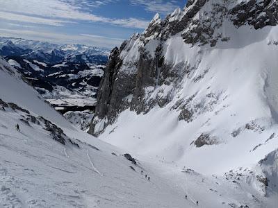 Ellmauer Tor, Wilder Kaiser skitour - Feb 19