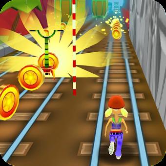 Subway Train Surfing 3D