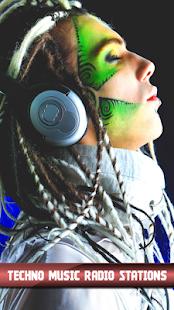Techno hudby rozhlasových stanic - náhled