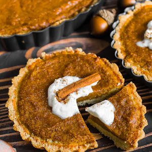 BUTTERNUT SQUASH MAPLE TARTS