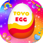 Eggs with surprise icon