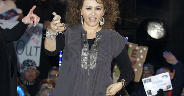 Nadia Sawalha is losing her teeth