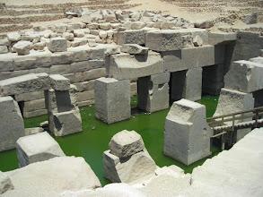Photo: Abydos ,der heilige Tempel des Osiris ,heilige Quelle...