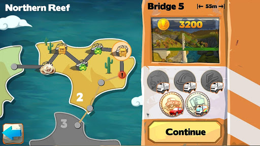 Bridge Constructor Playground FREE apkpoly screenshots 3