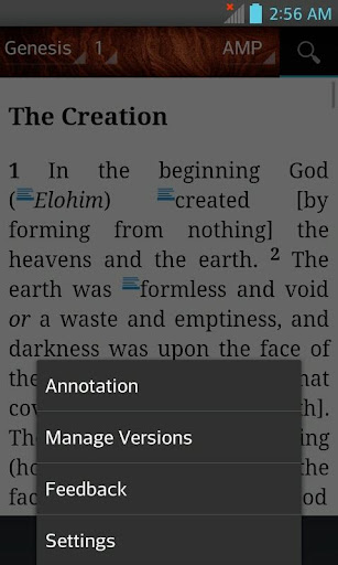 Bible AMP, Amplified Bible (English)  screenshots 4