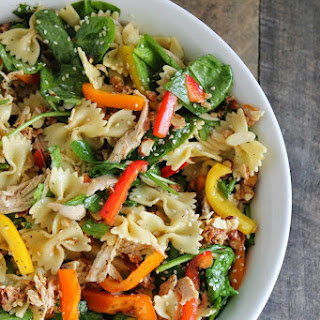 Oriental Chicken Pasta Salad.