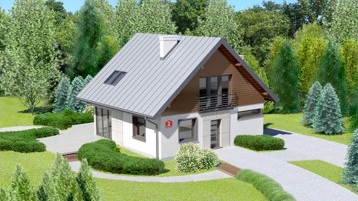 projekt Dom przy Cyprysowej 2