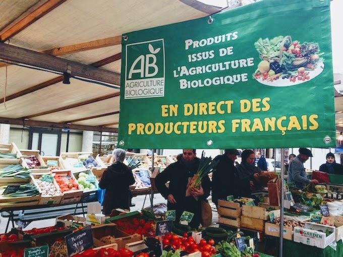 Marché biologique Brancusi マルシェ・ビオロジーク・ブランクーシ