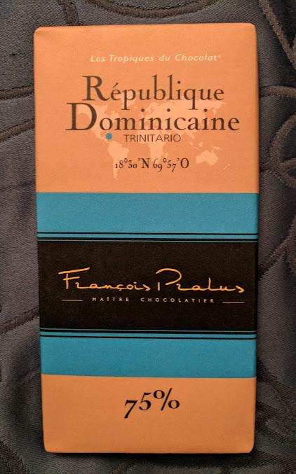 75% pralus dominican republic bar