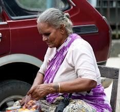 Photo: Year 2 Day 54 - Street Seller in Yangon