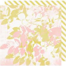 Heidi Swapp Emerson Lane Double-Sided Cardstock 12X12 - Sweet Nothings UTGÅENDE
