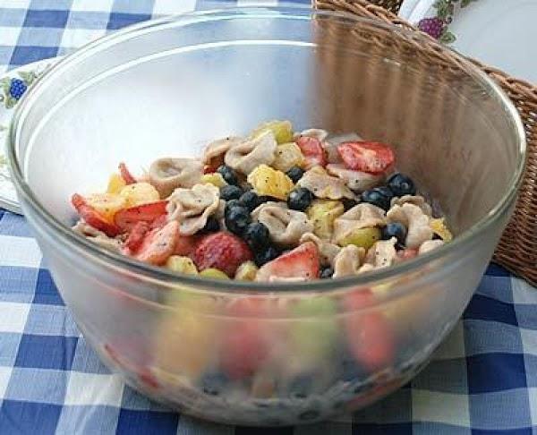 Blueberry And Tortellini Fruit Salad Recipe