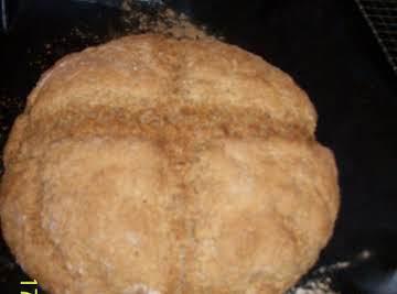 An Irish brown soda bread
