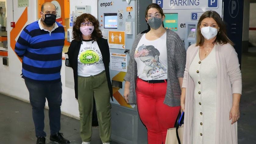 Presentación de la iniciativa en el Parking Centro Ejido.