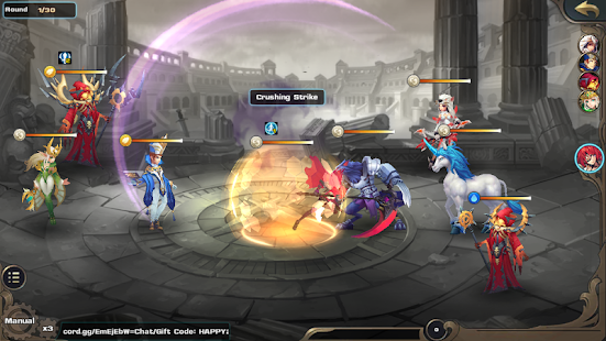 Fantasy Legend: War of Contract Screenshot