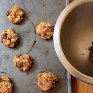 Carrot Raisin Cookies.