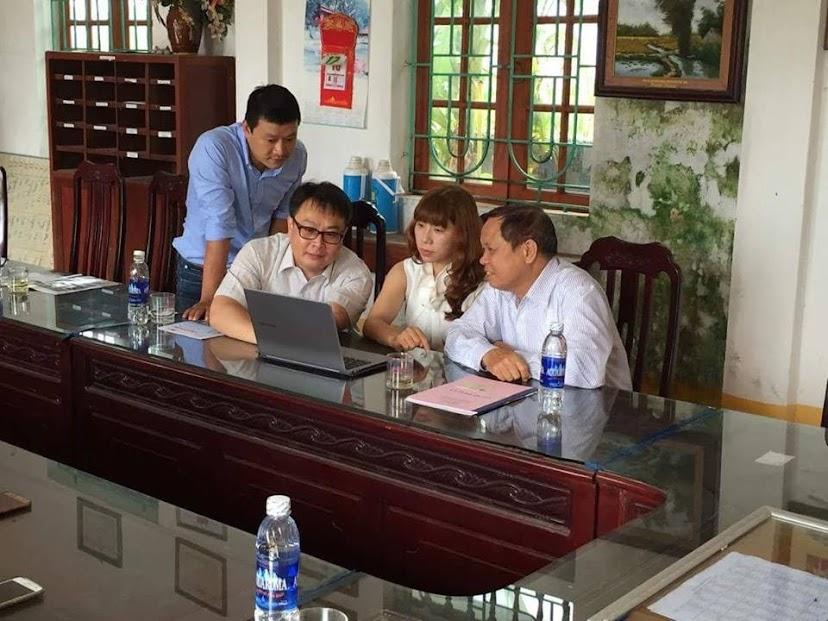 ICC Hà Nội cùng đại diện trường Busan