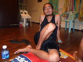 Photo: Georgetown, Penang - Yuichiro in accommodation, photo taken 110407