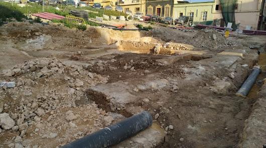 Zona aún en estudios arqueológicos en calle Pósito