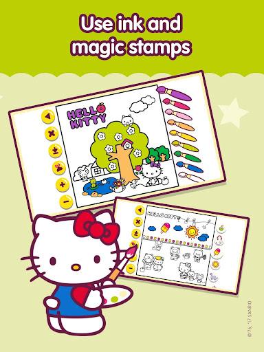 Hello Kitty u2013 Activity book for kids apktram screenshots 13